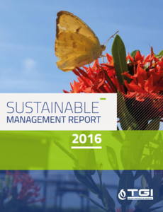 Sustainable Management Report TGI 2016